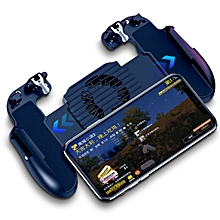 pubg gamepad with l1r1 trigger shooter game fire button aim key for iphone android pad phone holder with cooling fan ipad key fcshop