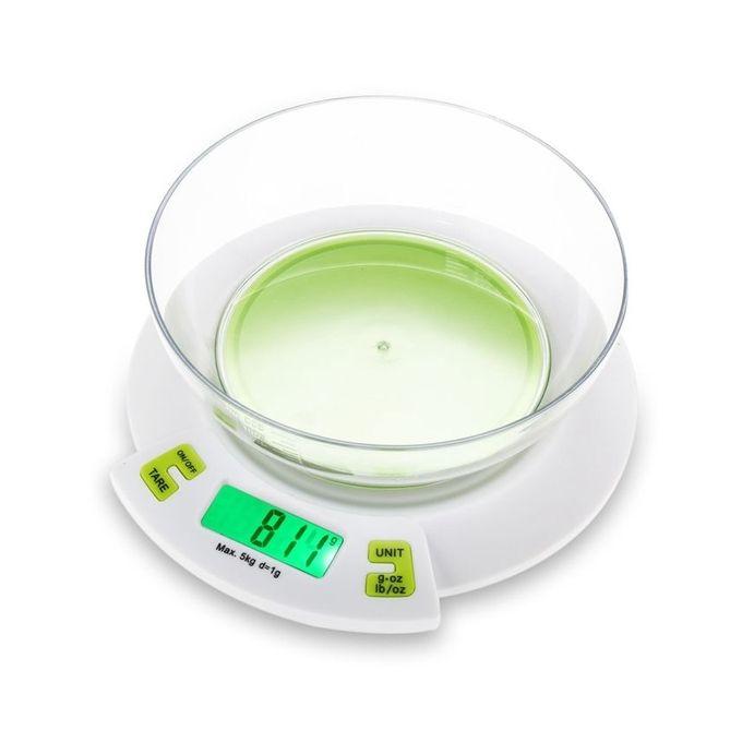 Generic balance num rique de cuisine 1g 5kg vert - Balance numerique cuisine ...