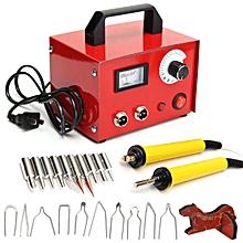 100w pyrography machine pyrography pen + wood burning pen + 20 tip kit for craft
