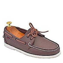 sebago chaussures bateau docksides - marron