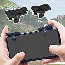 10pcs mobile game controller shooter trigger fire button for pubg apple iphone 8 10 x jy-m