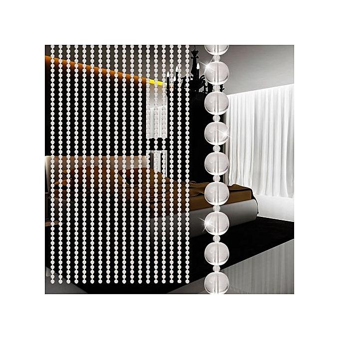 Generic Rideau Transparent Perlé Pour Porte De Salon , Chambre ...