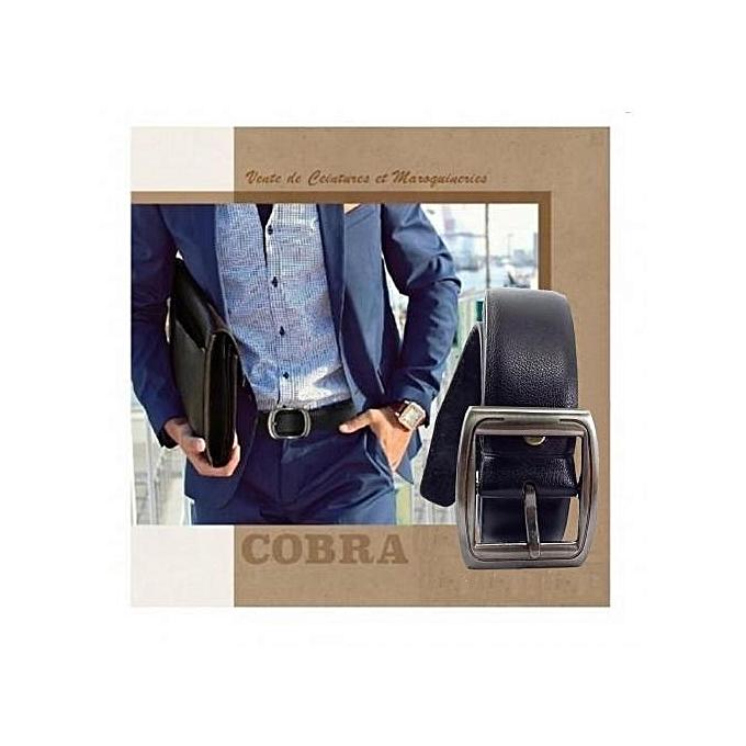 71db9b7e018e Fashion Ceinture Cuir - Noir - Prix pas cher   Jumia CI