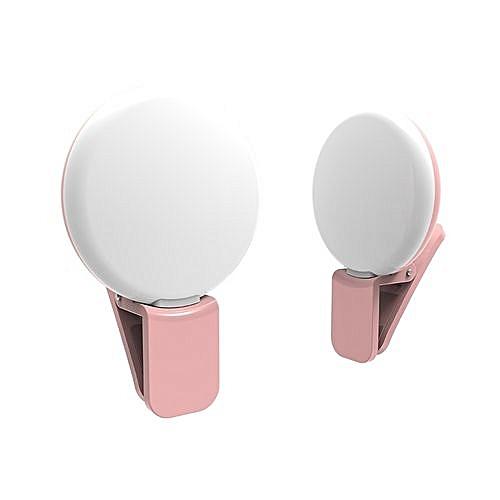 9 De Flash Photo Vidéo Selfie Clip Avec Lampe Rose Led Pour Smartphones xdWBrCoe