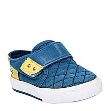 baskets enfant  - bleu