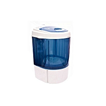 machine à laver 3kg – mtt30-wp1604 - bleu/blanc