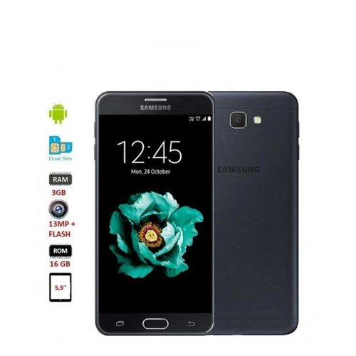 samsung j7 prime 5 5 pouces 16go rom 3gb ram fingerprint scanner 2 sim noir. Black Bedroom Furniture Sets. Home Design Ideas