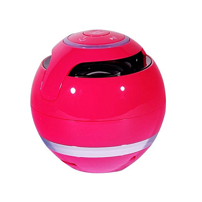 Generic Speaker Portable Super Bass Mini Bluetooth Wireless Speaker HOT-Hot Pink au Côte d'Ivoire à prix pas cher  | Promotion  Anniversaire