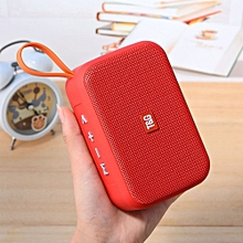 stylish  portable wireless bluetooth speaker mini stereo bluetooth speaker -red