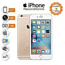 iphone 6 - 4.7 pouces - 1 go ram - 16 go - 8 mp - 4g - or - reconditionné - garantie 12 mois
