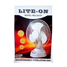 ventilateur rechargeable lite on