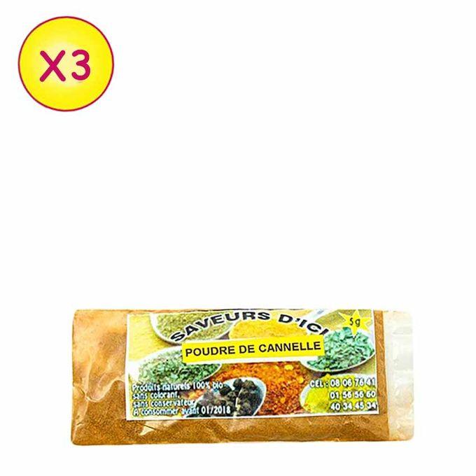 Poudre De Cannelle - 5 G X 5 - Multicolore