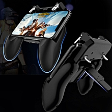 pubg mobile game controller l1r1 shooter joystick gamepad trigger aim button for iphone android phone game pad accesorios fcshop