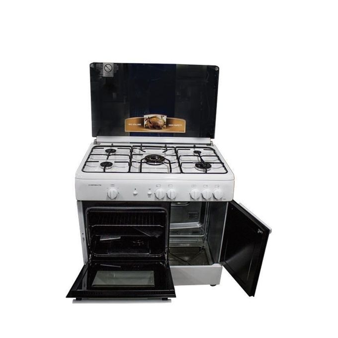 campomatic gazini re 5 feux avec cache bouteille blanc. Black Bedroom Furniture Sets. Home Design Ideas