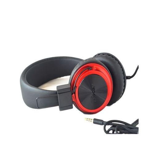 accessoire electro casque tecno boom j8 audio avec fil noir rouge acheter en ligne jumia. Black Bedroom Furniture Sets. Home Design Ideas