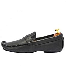 b51f7d7f31e Chaussures Homme En Mocassin En Cuir - Noir