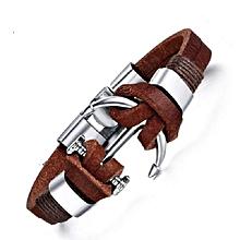 46cde4e5d86 Bracelet Cuir - Style Pirate