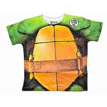 t-shirt enfant à imprimés tortues ninja - multicolore