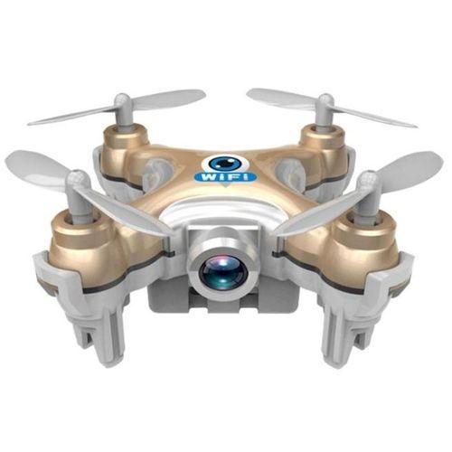 Drone Mini Caméra WiFi Pour Cheerson CX-10W  FPV 2.4G 4CH 6 - Or