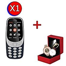 momfly nokia 3310 -dual sim + 2 montres+1 bague offert
