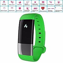 montre connectée m4-vert,intelligente multifonction  pour  ios / android - vert