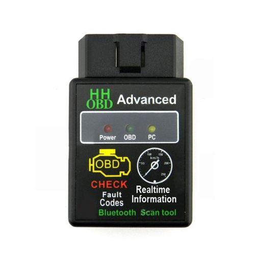 Lecteur De Code OBD2 Bluetooth ELM327 V2.1 Pour Voiture - Noir