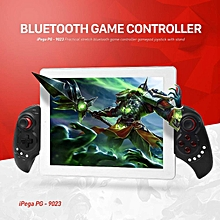 ipega pg-9023 wireless bluetooth game controller gamepad joystick with stretch bracket for ios android system ht