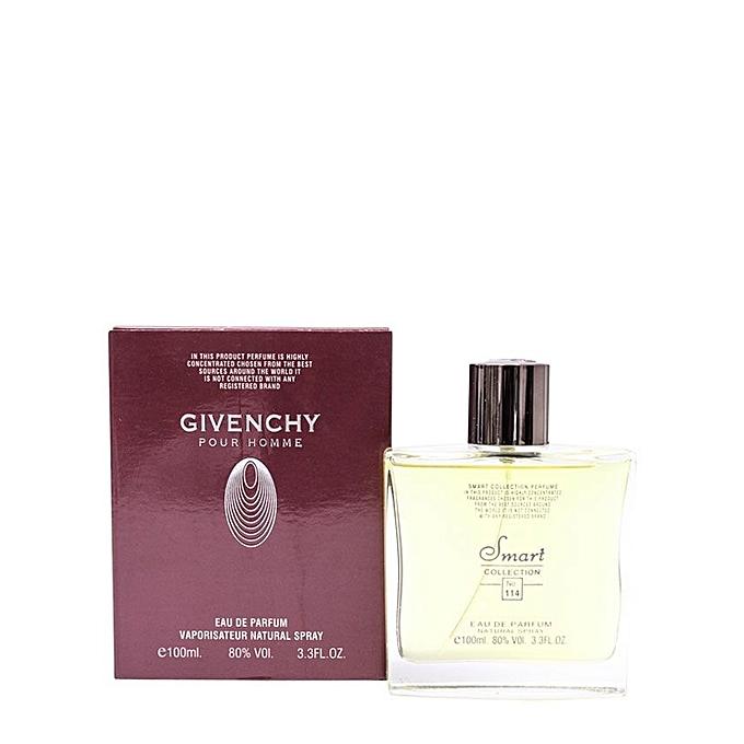 Eau De Parfum Pour Homme Givenchy Blue Label Smart Collection 168