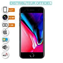 telephone apple - iphone 8 - 4.7 pouces- 64 gb - ios 11- 12 megapixels - 4g- gris sidéral- garantie 12 mois