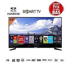 """smart tv led - 40"""" pouces android- fhd 1080p - usb - hdmi - wifi - noir - garantie 12 mois"""