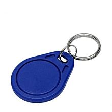 tag rfid pour lecteur de controle d'acces proximity card access control system rfid tag 125kh - bleu