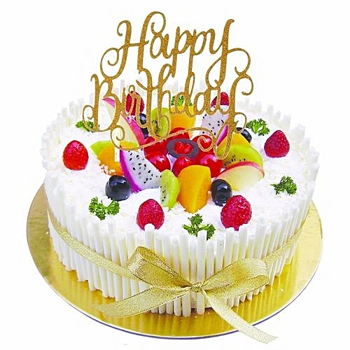 Universal Cake Topper Happy Birthday Party Supplies Decorations Kids