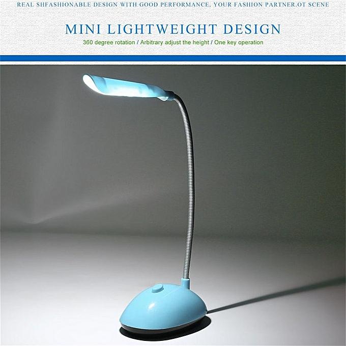 Lampe Et Bureau Batterie Avec Lecture Tube Fonctionnant Bleu Livre Led De Flexible Éolienne Sur CeoBrdxW