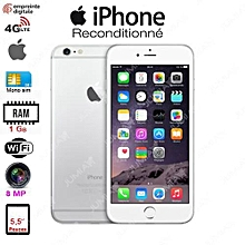"iphone6 - 4.7"" - 16 go - silver- reconditionné-3mois garantie"