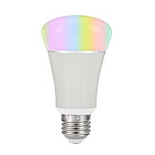 7w e27 smart rgb rgbww lamps wireless app wifi light dimming bulb