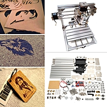 20x20cm 3 axis engraver milling engraving machine cnc wood carving router diy