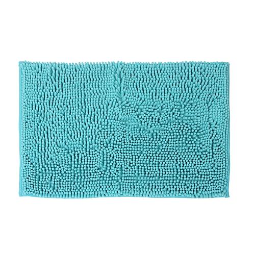 Sensea By Leroy Merlin Tapis De Bain Bleu Turquoise Miami, 60X40 Cm ...