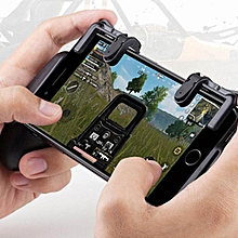 ishowmall mobile game shooter trigger fire button + hand grip for pubg game android iphone jy-m