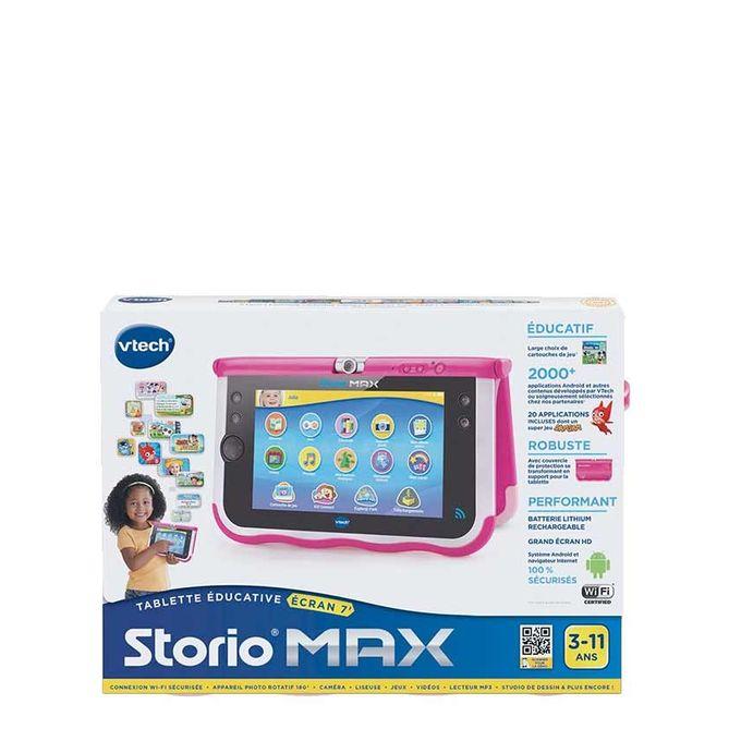 vtech tablette storio max 7 pouces rose acheter en ligne jumia c te d 39 ivoire. Black Bedroom Furniture Sets. Home Design Ideas