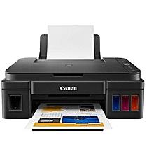 imprimante jet d'encre canon pixma g3411- wifi -12000 pages en noir et 7000 pages en couleur noir
