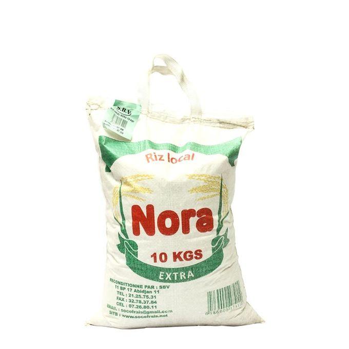 Sac de Riz Local NORA - 10Kg fait en COTE D'IVOIRE