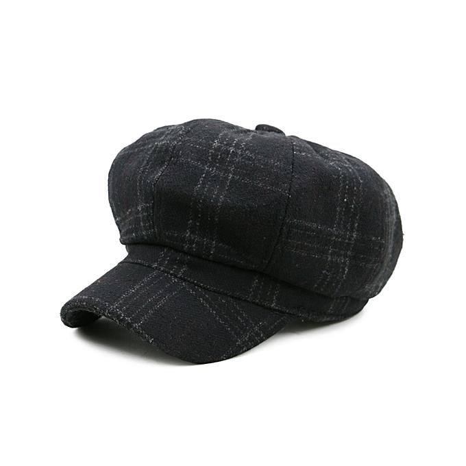 FashionMotif Tartan Extérieur Agrémentée Newsboy Hat  – NOIRBonnets, Chapeaux & Casquettes |  Côte d'Ivoire
