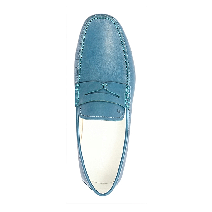 F.Beltoni Mocassin Chaussure Bateau Détails Moustache - Bleu - Prix ... 9aa14fd020d7