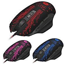 souris de jeu 3200 dpi 8d buttons led pour pc laptop -noir