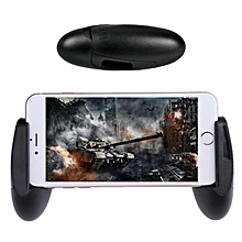 k1 game grip extended handle portable handle holder universal foldable game controller accessories gamepad ergonomics design game joystick for 4.5 to 6.5 inch android & ios smartphone lbq