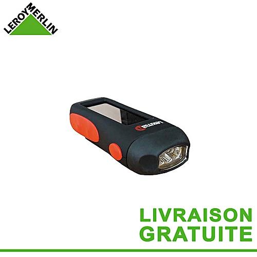 Lampe De Pile Rechargeable DynamoSolaire Torche Antichoc Par Sans Ampoule Led Fonctionne Poche Incluse wXO8nk0P