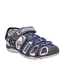 sandales enfant style kito - gris/bleu