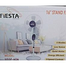 2 ventilateurs télécommandés – fiesta  – silencieux – 3 niveaux de vitesses – 16''