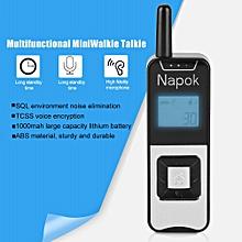 1000m multifunctional mini handheld walkie talkie two way radio 22 channels