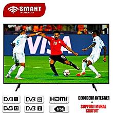 "tv led full hd - 50""- stt-7750 + décodeur intégré+ support mural - noir"